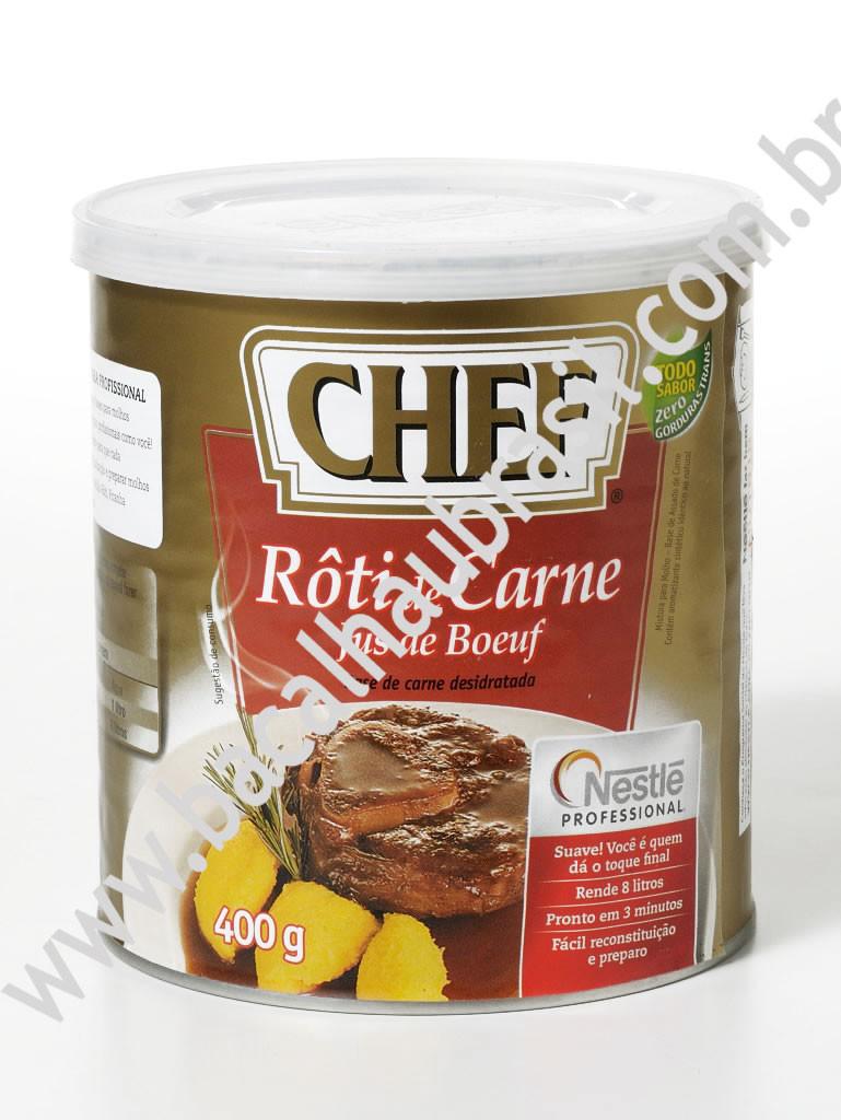 Molho Rôti de Carne Chef – Marca Nestle – Lata 400gr