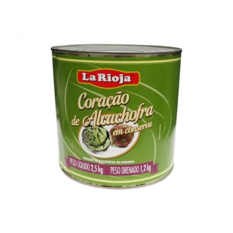 Coração de Alcachofra - Marca La Rioja - Lata 1,2kg