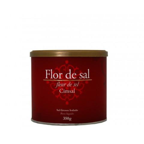 Flor de Sal - Marca Cimsal - Pote 350gr