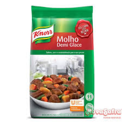 Molho Escuro Demi Glace - Marca Knorr - Pote 1,1kg