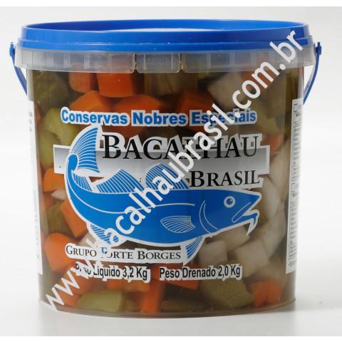 Pickles - Marca Bacalhau Brasil - Balde 2kg