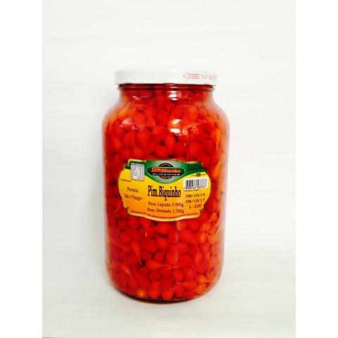 Pimenta Biquinho Vermelha – Marca D' Horta – Vidro 2,900kg