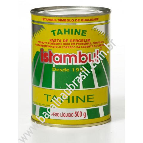 Tahine - Marca Istambul - Lata 500gr