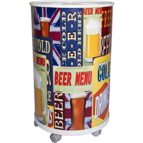 Cooler Com Estampa Beer Vintage 75 Latas - Anabell