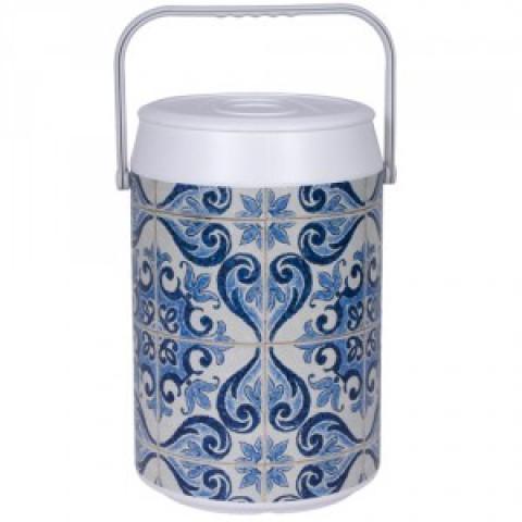 Cooler Ceramica Mexicana 24 Latas - Anabell