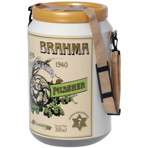 Cooler Da Brahma Edição Histórica 1940 24 Latas - Doctor Cooler