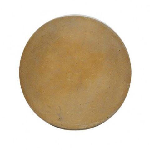 Kit Pedra De Pizza Refratária Ø 37cm + Conjunto Cortador E Espátula Para Pizza Mor