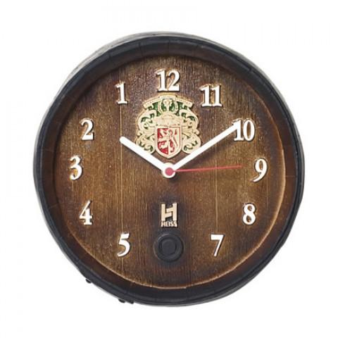 Relógio Decorativo Fundo De Barril Anti Horário P