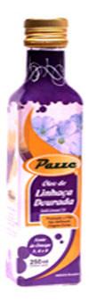 Óleo de Linhaça Dourada - PAZZE - 250 ml