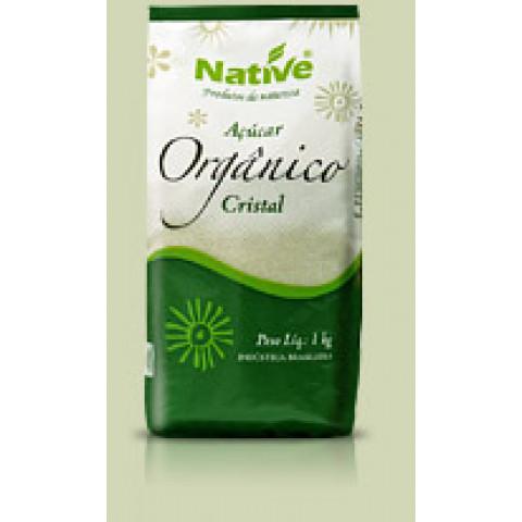 Açúcar Orgânico Cristal - NATIVE - 1 Kilo