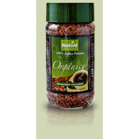 Café Orgânico Solúvel Liofilizado - NATIVE - 50gr.