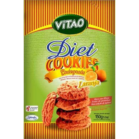 Cookies Diet Integral de Laranja - VITAO - 150gr