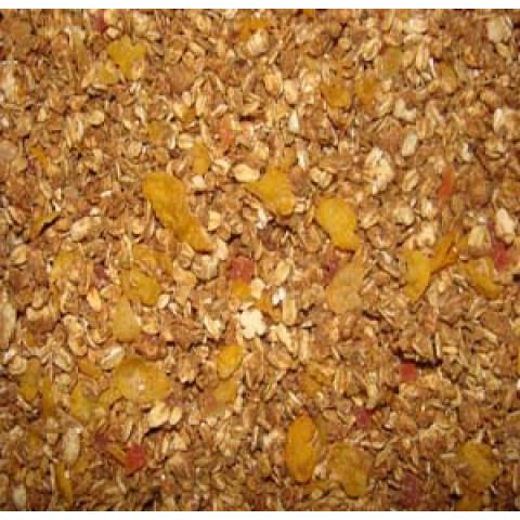 Granola Mamão, Ameixa e Linhaça