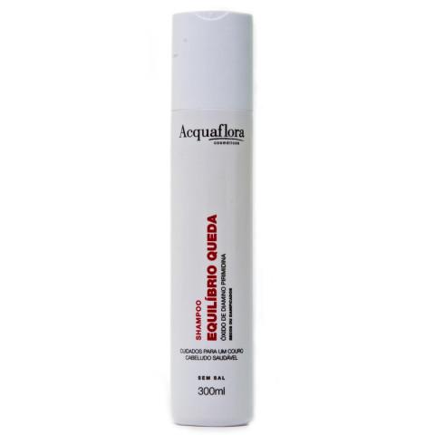 Shampoo Acquaflora Equilíbrio Queda secos ou danificados
