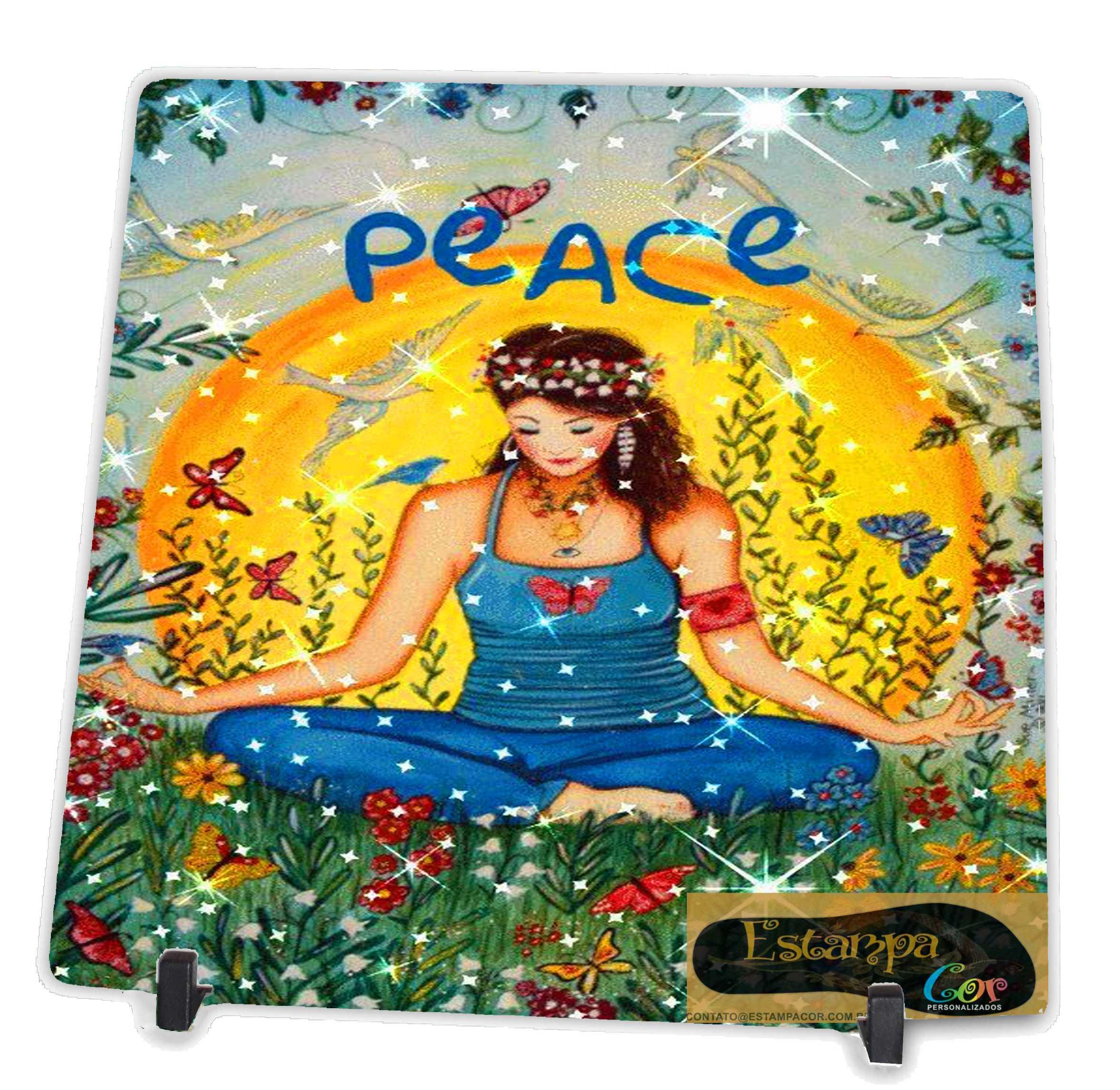 Azulejo Personalizado Peace
