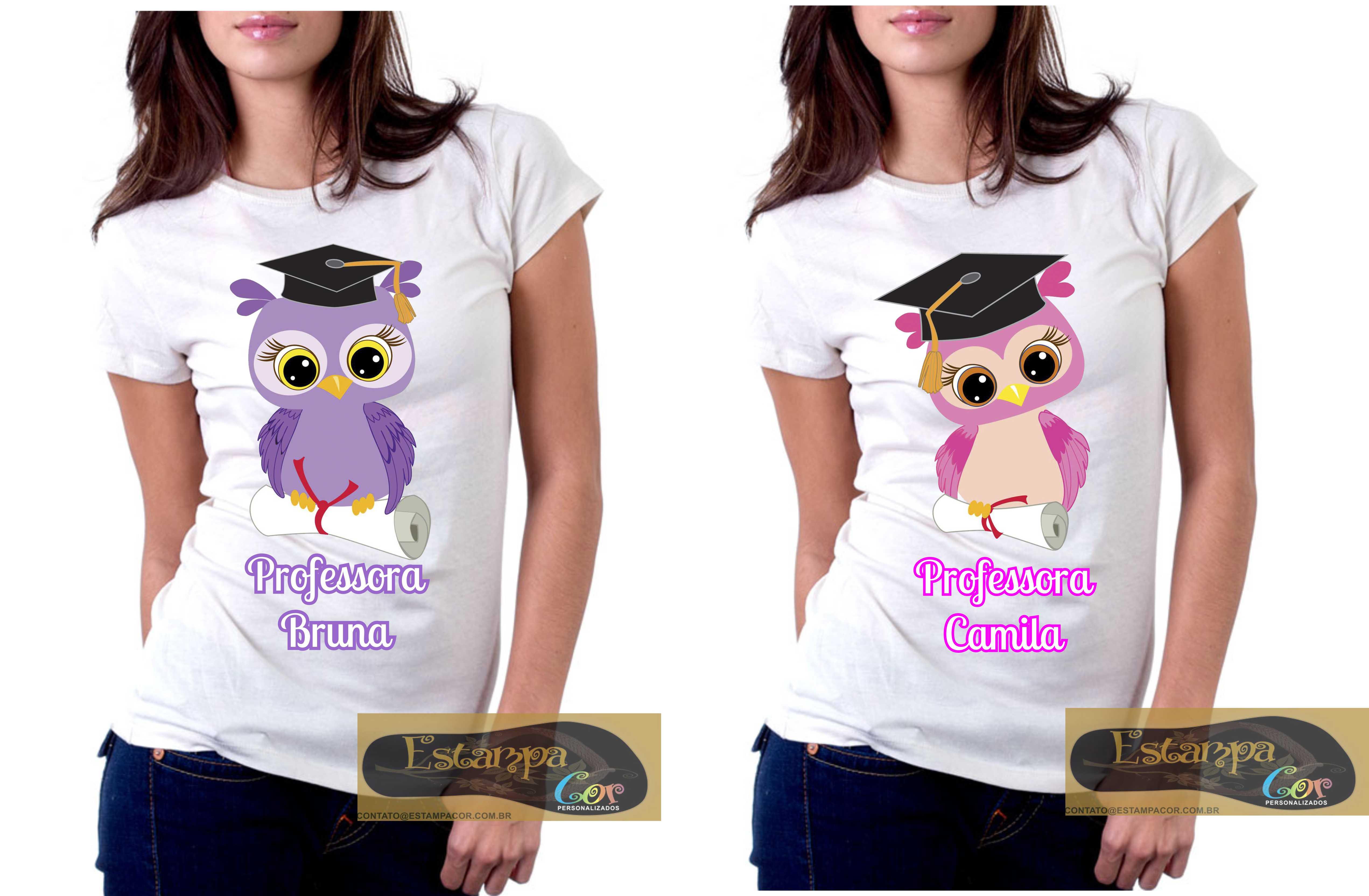 Camiseta Personalizada Dia do Professor IV