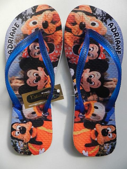 Chinelo Personalizado Disney