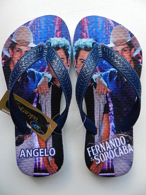 Chinelo Personalizado Fernando & Sorocaba