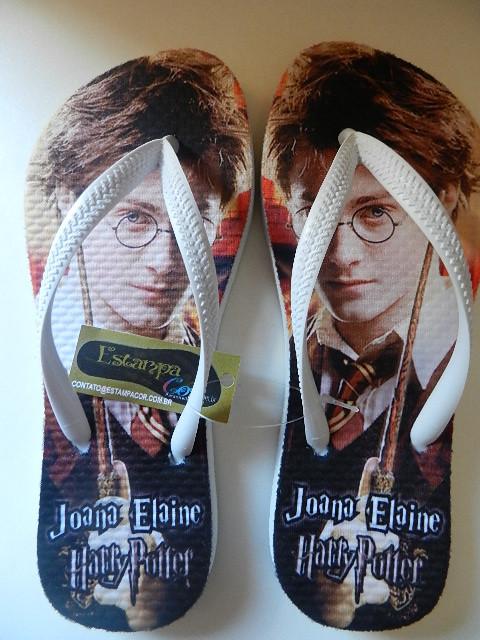 Chinelo Personalizado Harry Potter