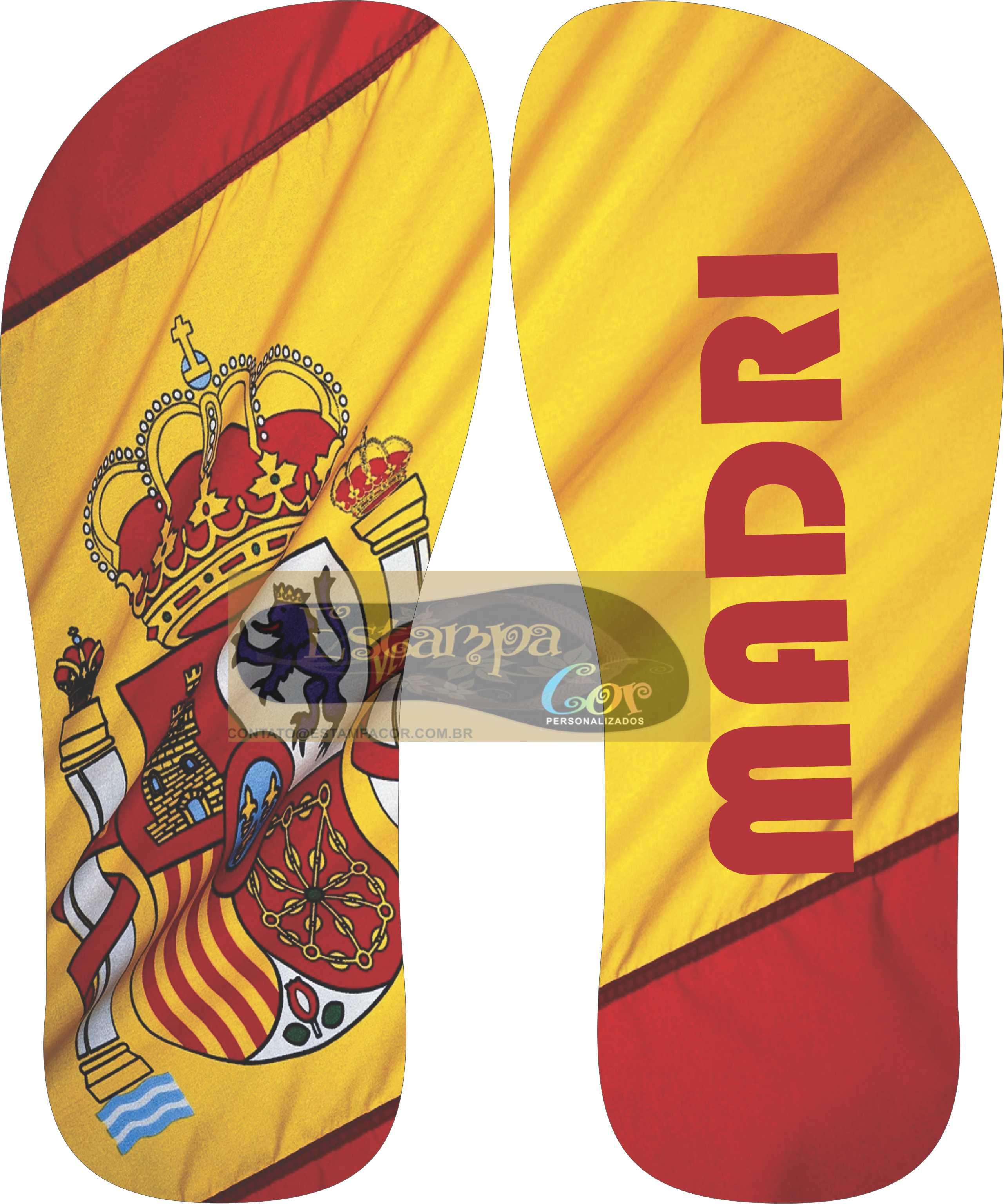 Chinelo Personalizado Madri
