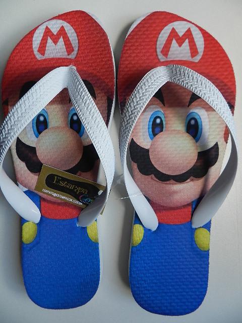 Chinelo Personalizado Mario