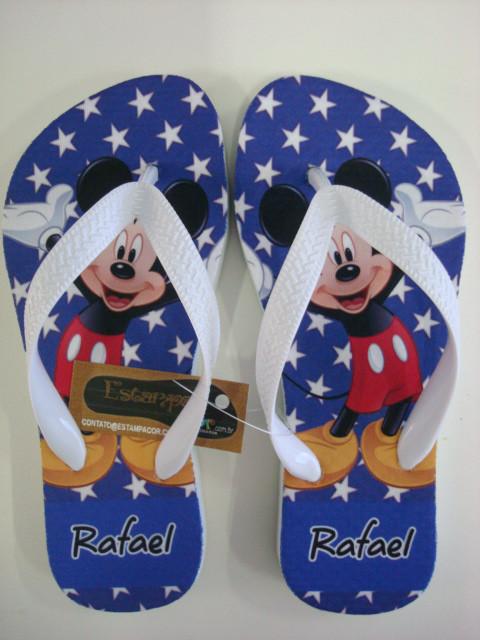 Chinelo Personalizado Mickey II