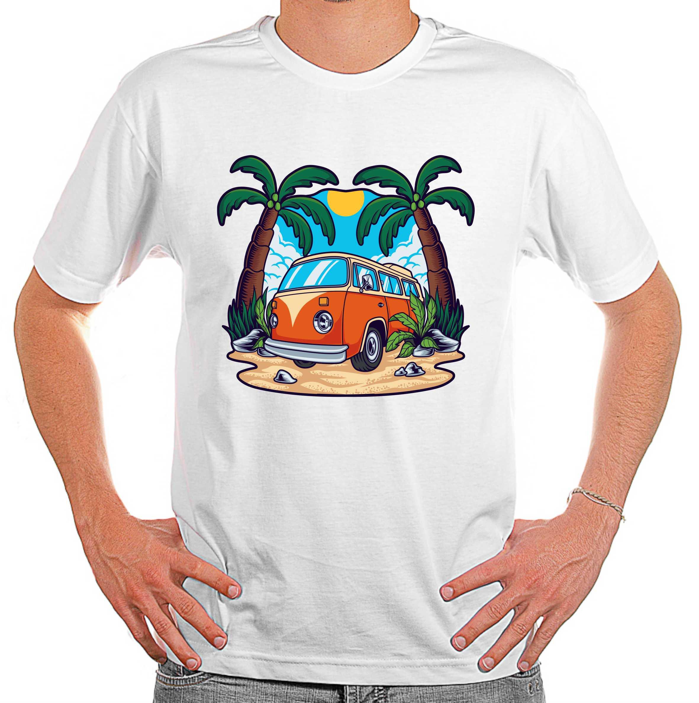 Camiseta Kombi Summer