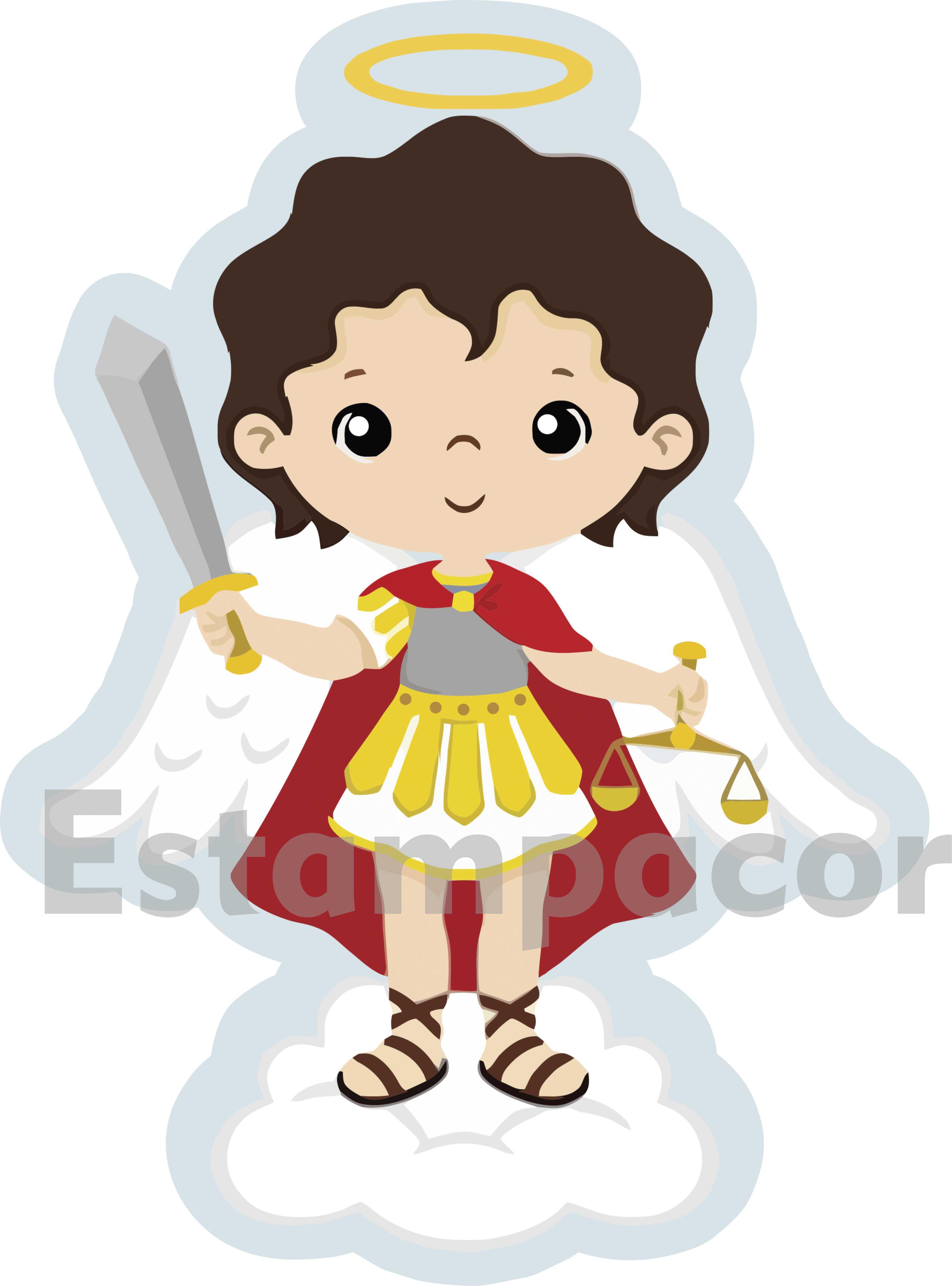 Recorte Personalizado Arcanjo São Miguel