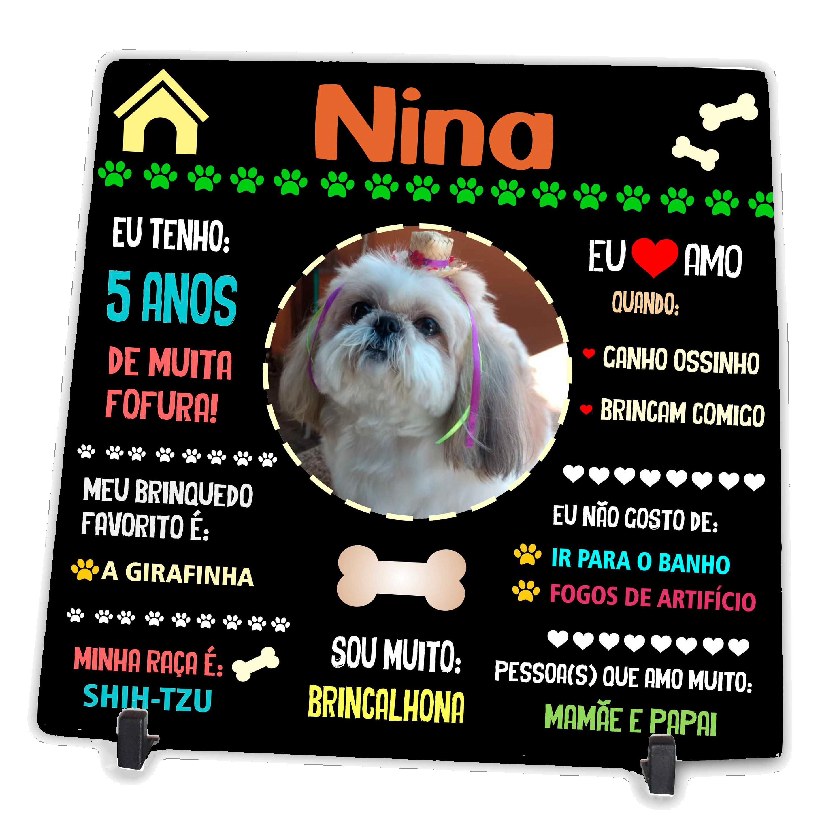 Azulejo personalizado Pets