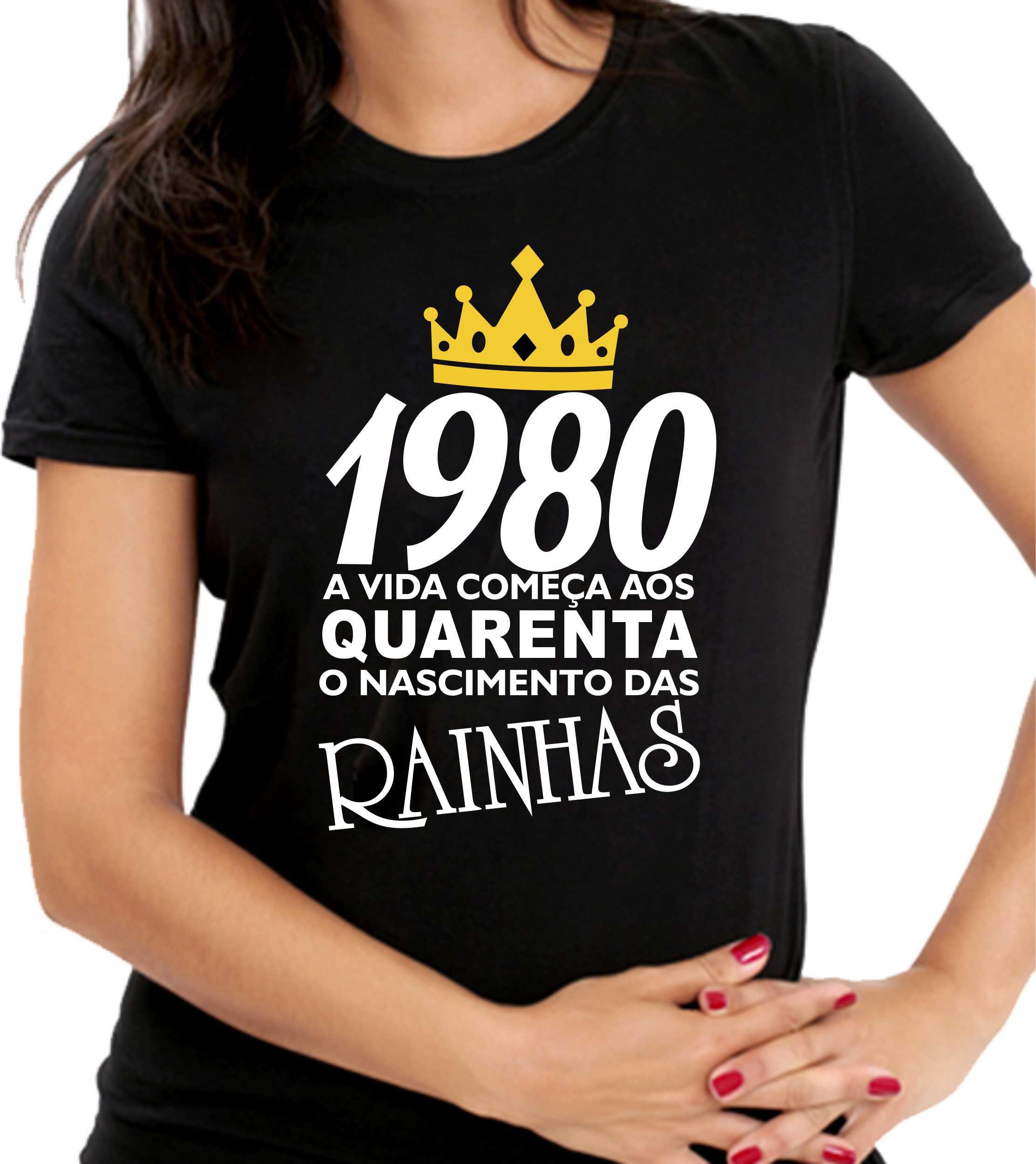 Camiseta das Rainhas