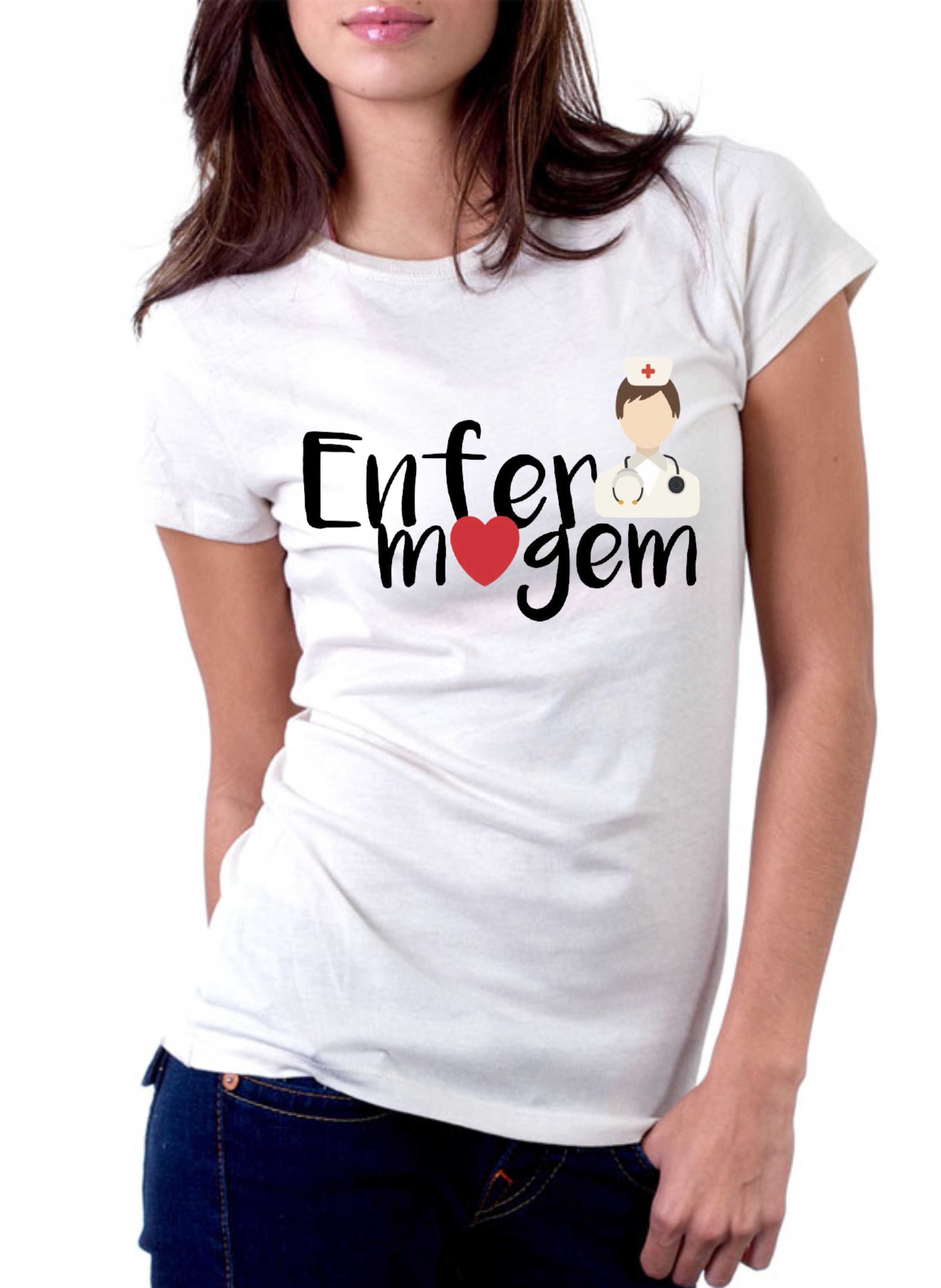 Camiseta Curso Enfermagem