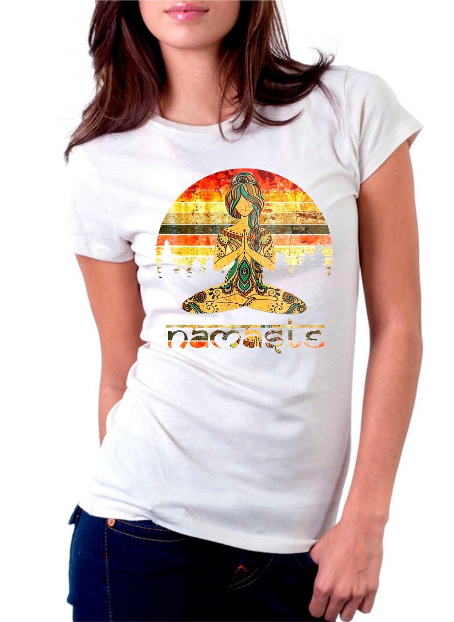 Camiseta Personalizada Namastê