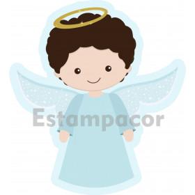 Recorte Personalizado em Tecido Para Almofada Naninha de Anjinho Anjo da Guarda
