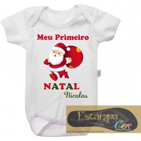 Body Personalizado Meu Primeiro Natal II