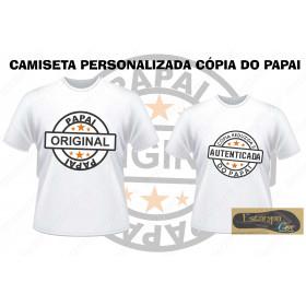 Camiseta Personalizada Cópia Reduzida e Autenticada (monte o seu Kit)