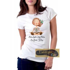 Camiseta Personalizada Ho'oponopono Sinto Muito Me perdoe Sou Grata Te Amo III