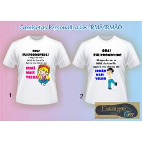 Camiseta Personalizada Oba! Fui Promovida(o)