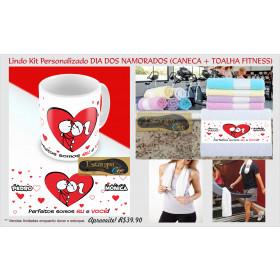 Kit Personalizado Dia dos Namorados - Diversos Modelos (Monte o seu Kit)