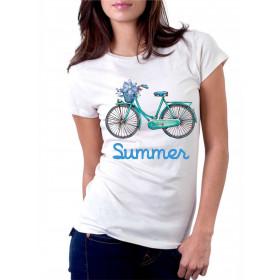 Camiseta Bicicleta Summer