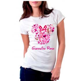 Camiseta Personalizada Guerreira Rosa