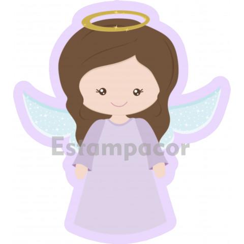 Recorte Personalizado Anjo da Guarda Anjinha