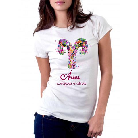 Camiseta Personalizada Signos Do Zodíaco - Escolha O Signo
