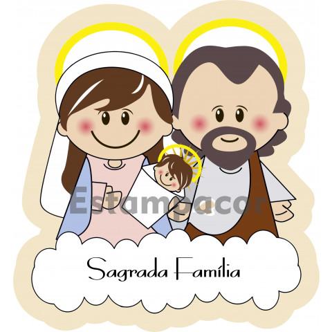 Painel sublimado sagrada família