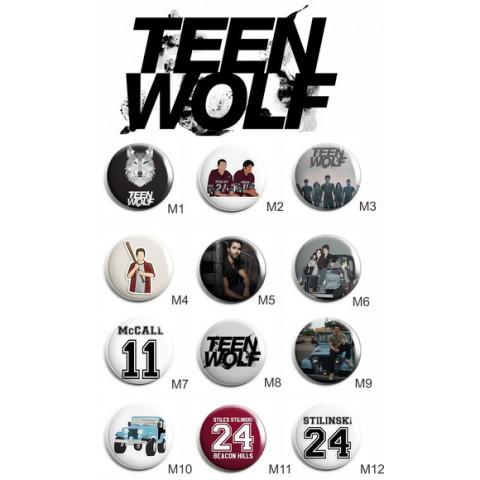 Botton Teen Wolf Lobisomen