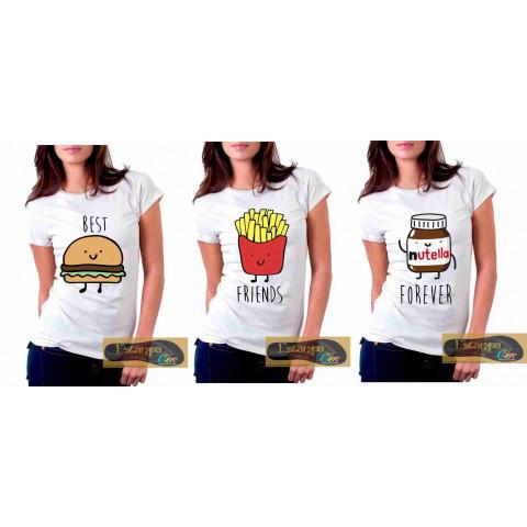 Camiseta Personalizada Best Friends Forever