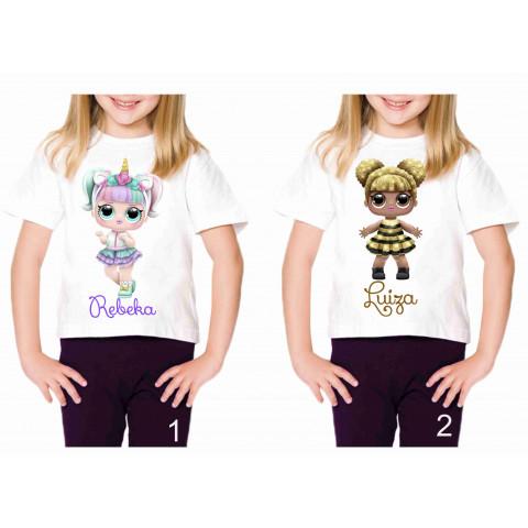 Camiseta Personalizada Boneca Lol Surprise I - 8 Modelos