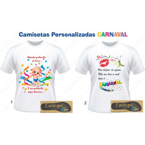 Camiseta Personalizada Carnaval
