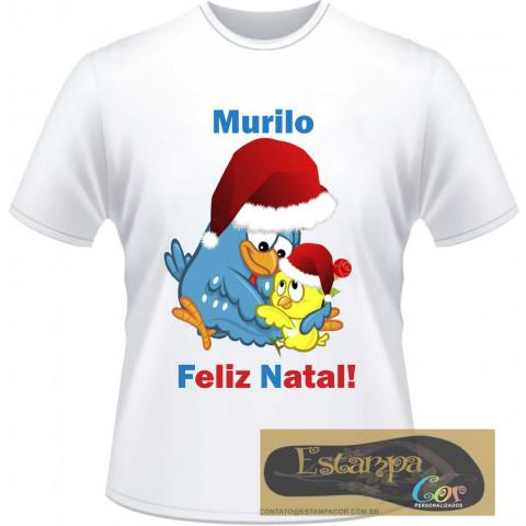 Camiseta Personalizada Galinha Pintadinha Natal