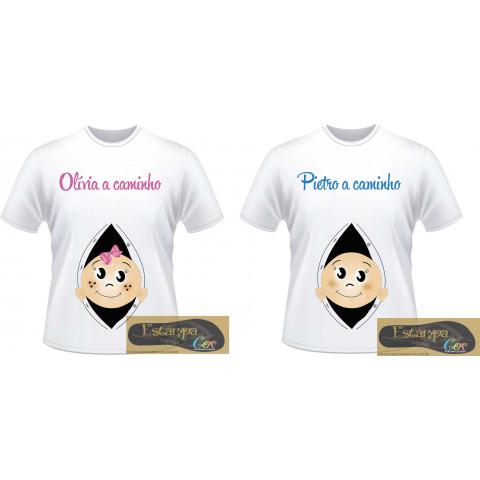 Camiseta Personalizada Gestante II