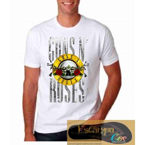 Camiseta Personalizada Guns N' Roses